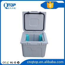 Rotomoulding insulated plastic ice cooler food cooler box for camping