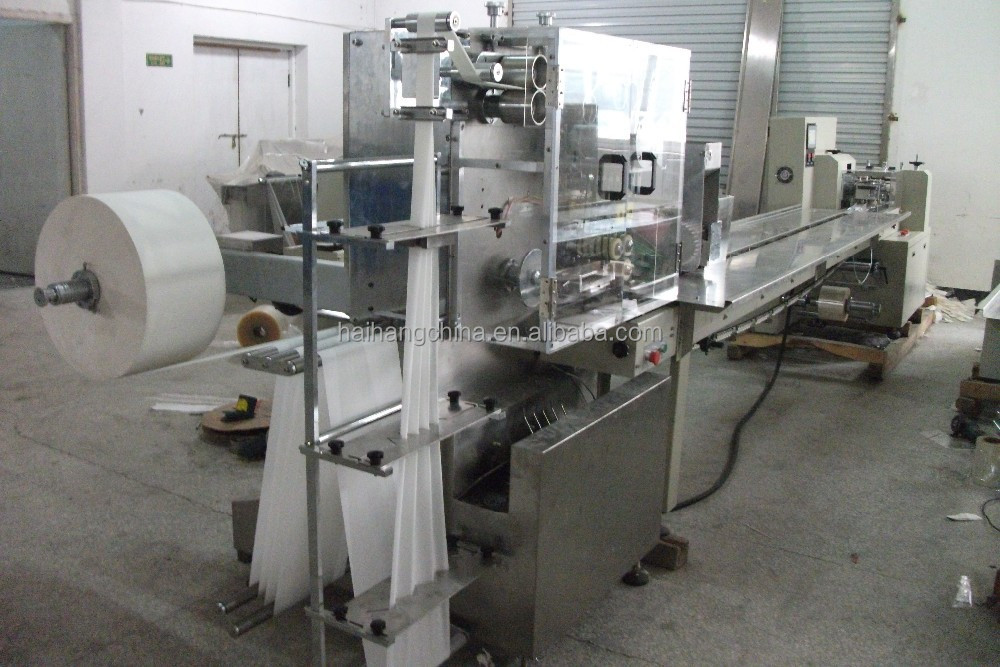 disposable wet tissue/spoon/fork/salt pack machinery