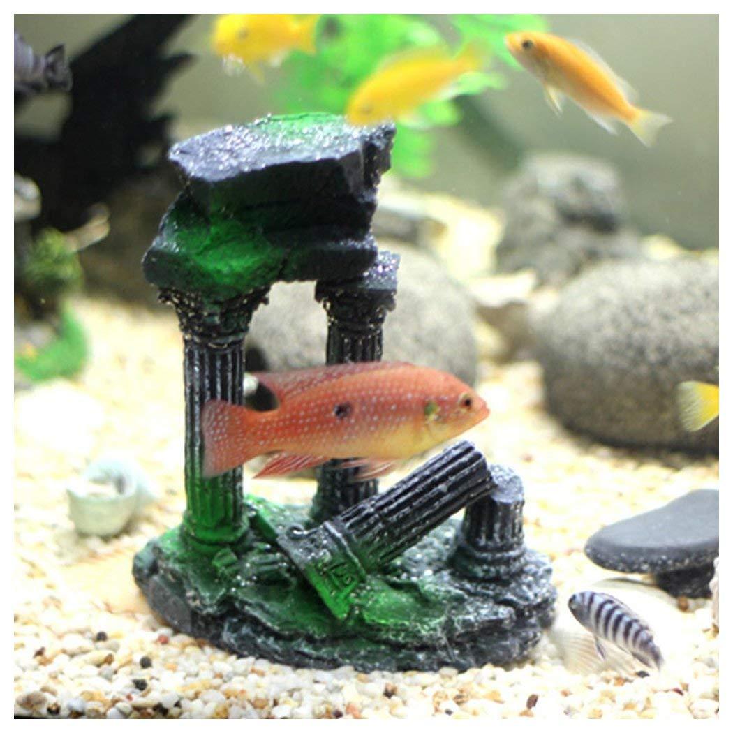 Fake Fish Swimming Aquarium Ornament for Fish Tank Decor Inkach B