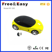 Unique car shaped gift wireless mouse