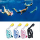New Arrival Underwater Scuba Gear 180 Degree Diving Full Face Snorkel Mask