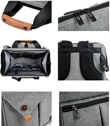 Multi Function Baby Diaper Bag With Stroller Straps Best Burlington