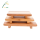 factory supply double color bamboo Japanese sushi plate
