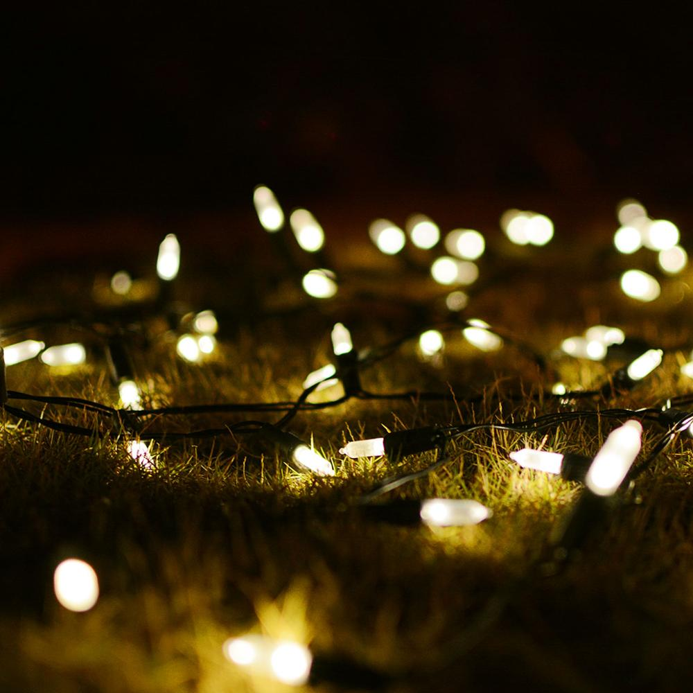 Solar Led Christmas String Light Outdoor Led Lighting Decorative String