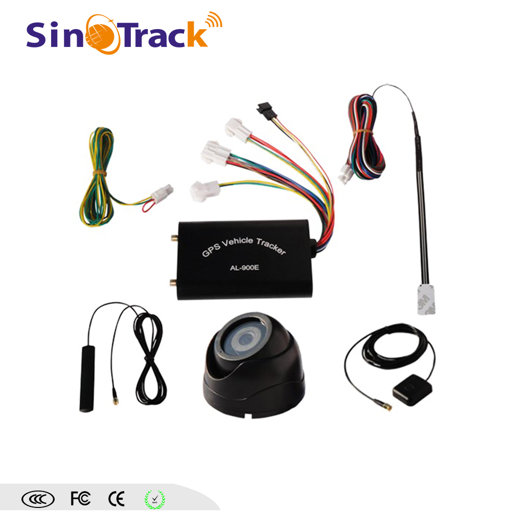 Cheapest car GPS tracker AL-900E with Camera Remote Contro and free software