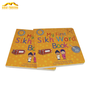 Factory price printing paper book coloring board children story books