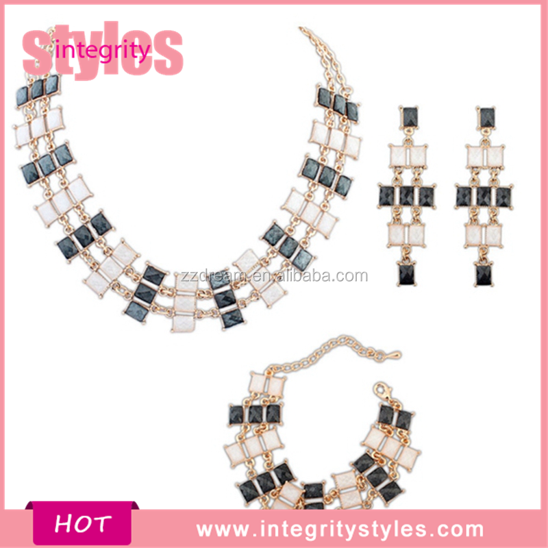 2016 Factory Direct Fashion Trendy Vogue Inspirational Jewelry Set