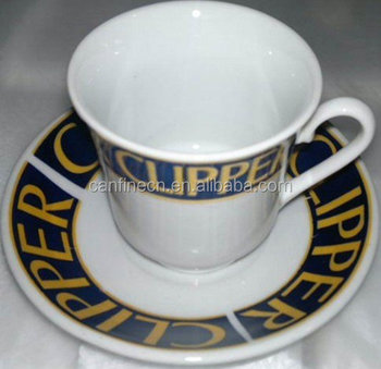 Large Coffee Cups With Saucer Ceramic Cup Sets And