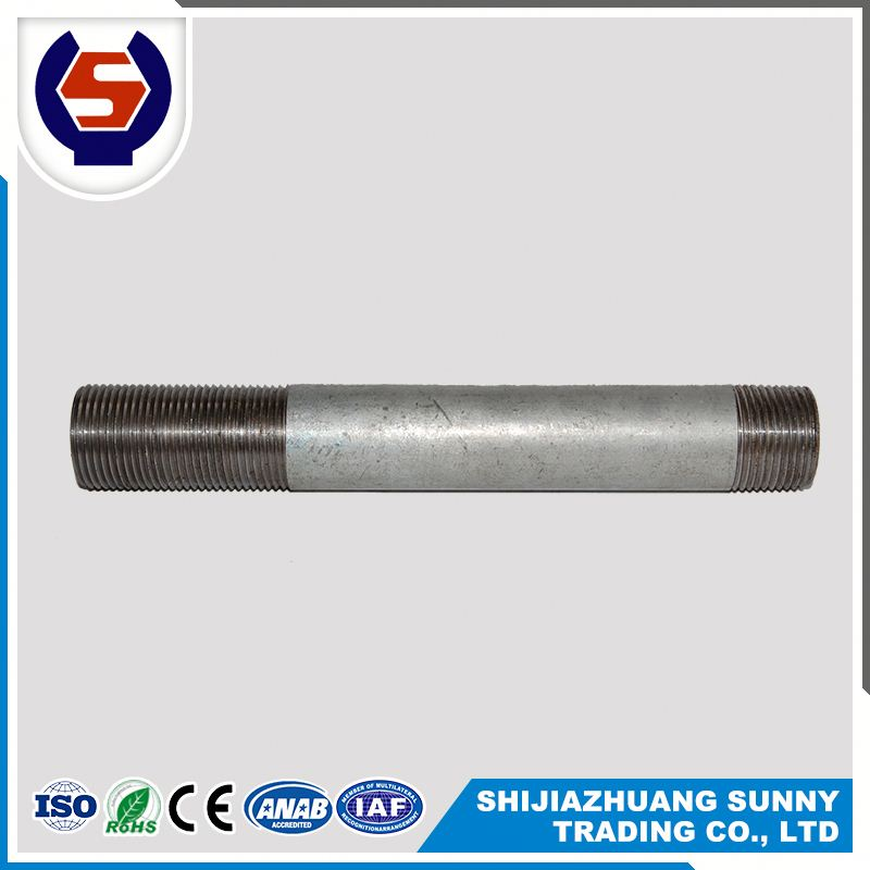 sch40 pipe brass male thread nipple