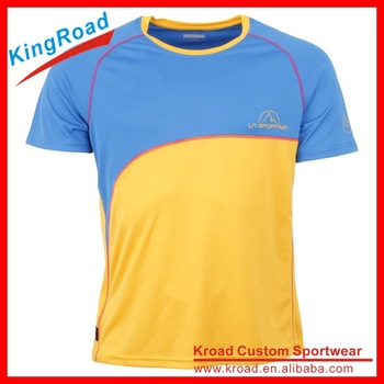 custom running shirts with brand logo and design printing