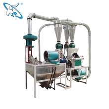 6F-2250 low price small home use roller wheat flour mill machine plant