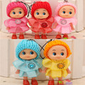 2Pcs Set Kids Toys Soft Interactive Baby Dolls Cute Girl Skirt Confused Doll Princess Doll For