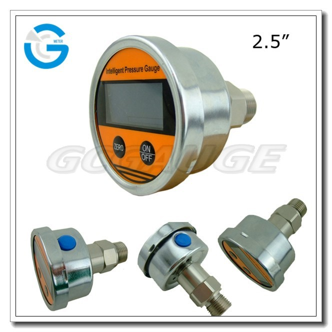 High Quality 2.5inch 63mm all stainless steel Digital Psi Pressure Gauge
