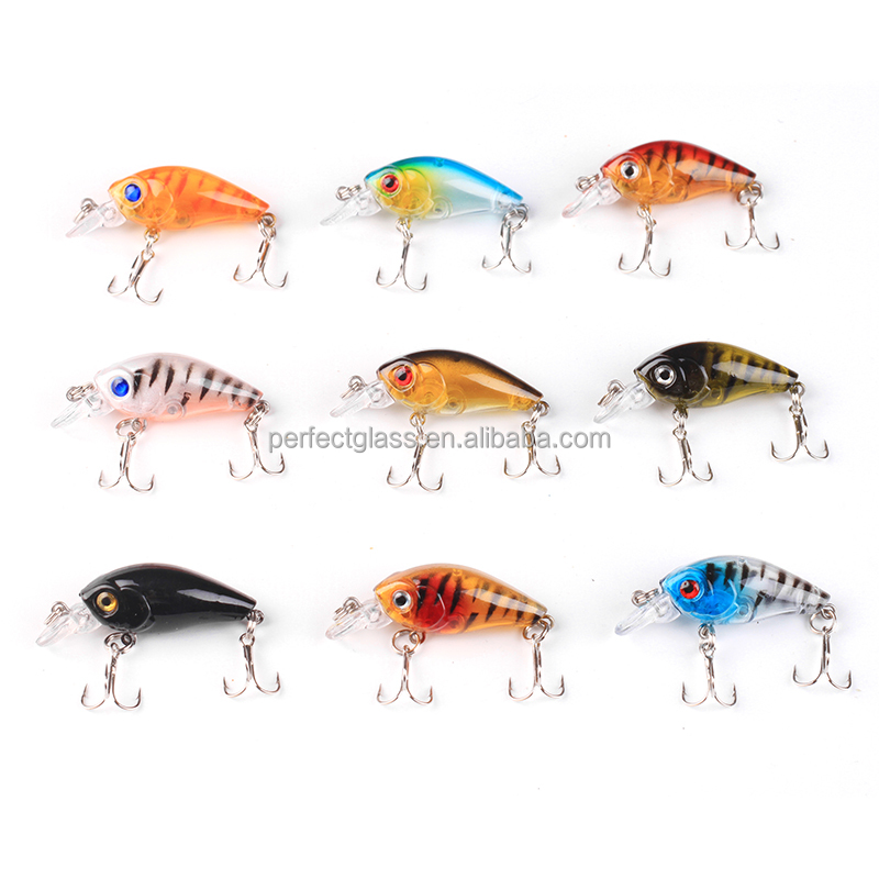 New Sea Bass <strong>Fishing</strong> Lures CrankBait Crank Bait Tackle Artificial Hard <strong>Fishing</strong> Lure 4.5cm/4g