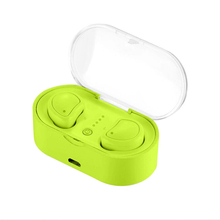 Mini Kecil Penutup Transparan Charger Kasus Bt Tws Radio Binaural Bluetooth Nirkabel Earbud Earpiece