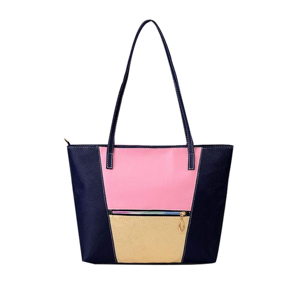 FitfulVan Clearance! Hot sale! Bags, FitfulVan New Fashion Handbags Large Women Bags Solid Shoulder Tote Bags (Black)