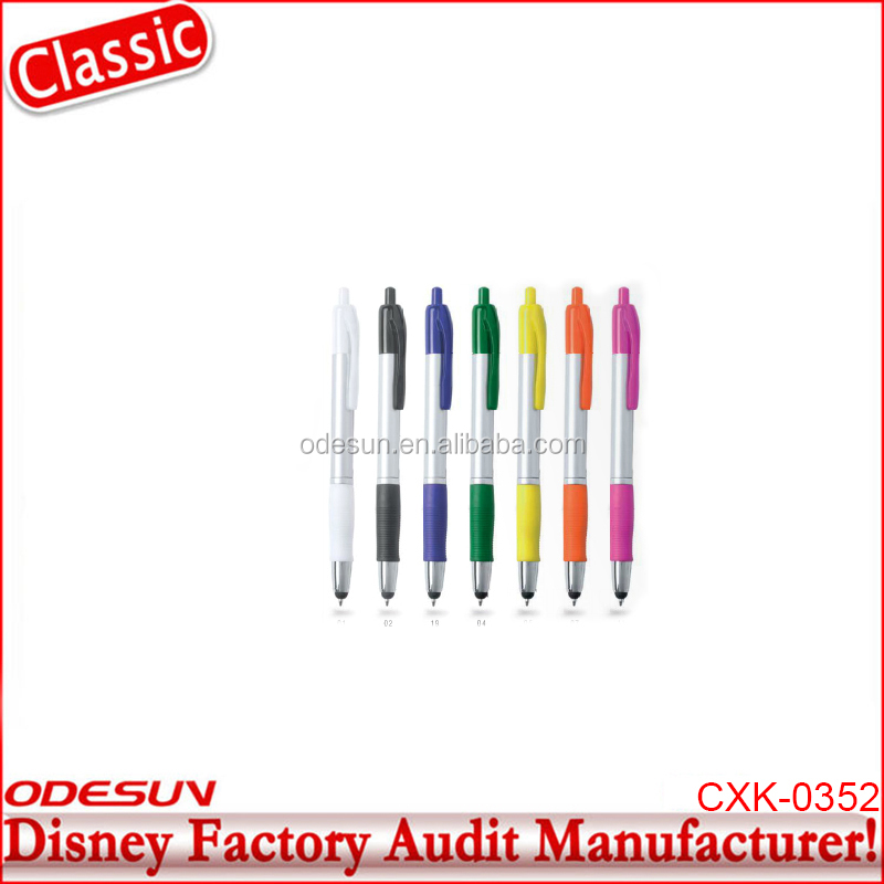 Disney Universal NBCU FAMA BSCI GSV Carrefour Factory Audit Manufacturer New Model Cello Gripper Ball Pen