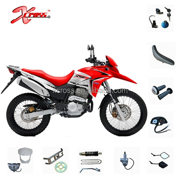 XRE300 Spare Parts Motorcycles Parts Body Covers and Other Parts Headlight Fuel tank Seat Fork Front shock absorber Side covers