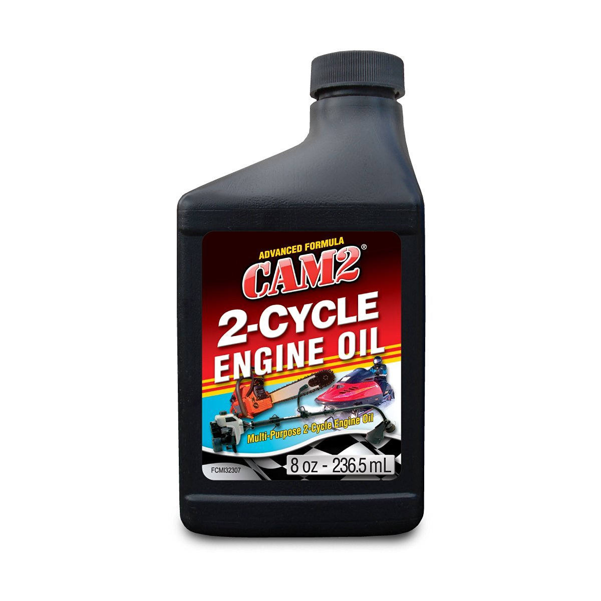 CAM2 80565-32318-24PK 2 Cycle Air Cooled Engine Oil - 8 fl. oz., (Pack of 24)