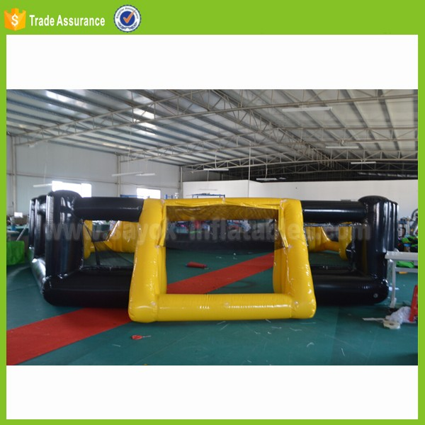 indoor commercial football inflatable panna soccer cage game hire