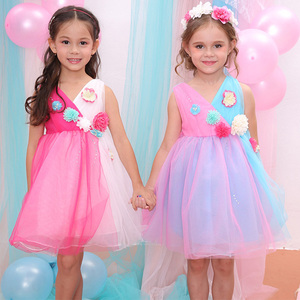 Kids Gown Design Baby Frock Cutting Brand Bonny Billy Children Dress China Chilren Dress Factory