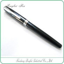 Luxury Top Cap Off discount ink engraved excellent black fountain pen