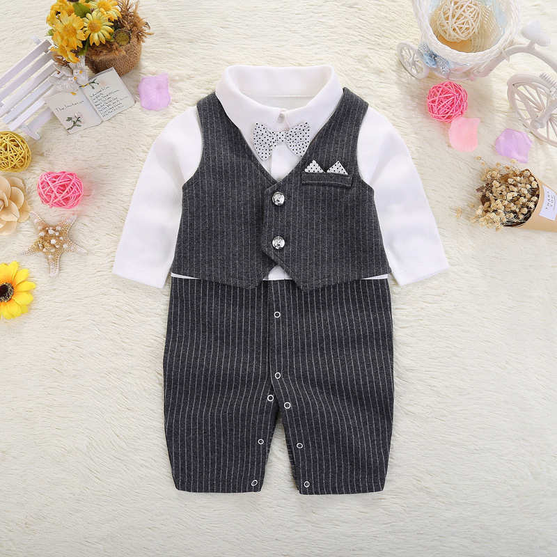 YQ179 China Wholesale Newborn Baby Boys Two Piece Clothes Infant Carter Boutique Clothes
