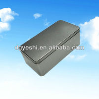 Square metal tin emprty containers