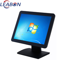"Beautifully designed 12"" 15inch 17 inch True Flat capacitive / resistive Touch lcd pos Monitor"