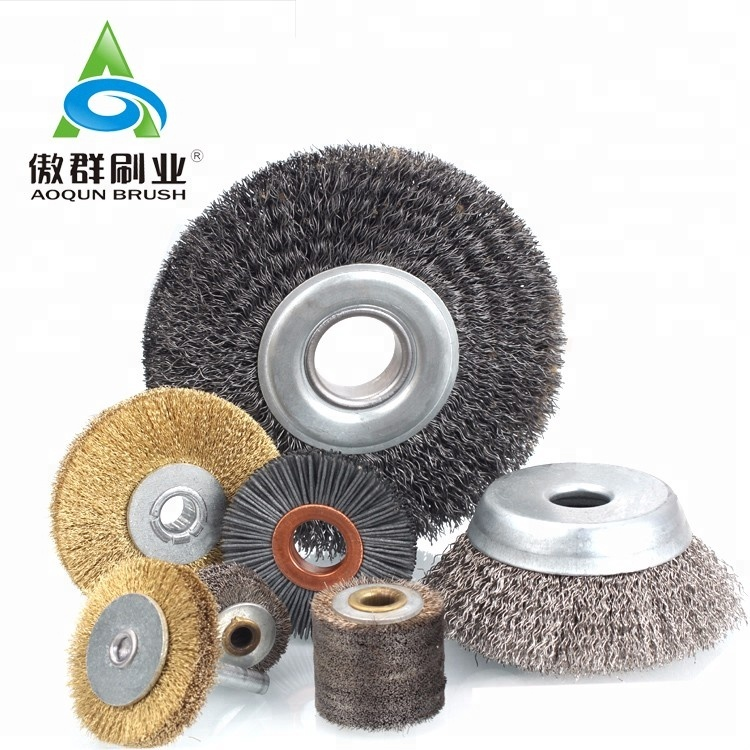 Industrial Abrasive Polishing Wheel brush / Drill Cup Brush /Metal Steel Wire Brush