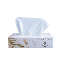 Wholesale cheap price custom package flat box facial tissue paper