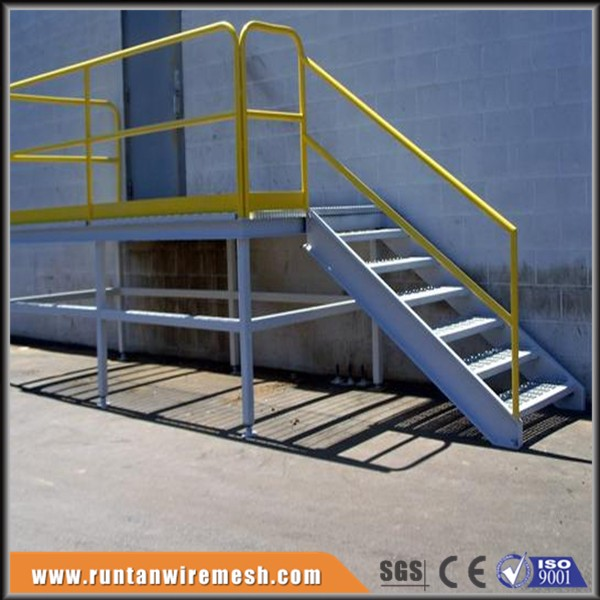 Outdoor Structure Prefabricated Steel Stairs