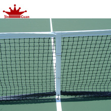 PE braided tennis net for professional tennis game and mini tennis net
