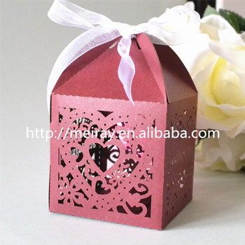 Chocolate Candy Box Hot Selling Items Laser Cut Love Heart Gift