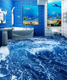 [Self-Adhesive] Australia 3D Blue Ocean Nature 056 Non-slip Waterproof Photo Self-Adhesive Floor Mural Sticker WallPaper Murals