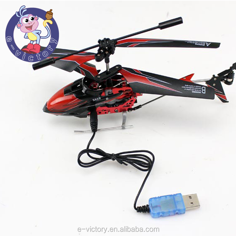 Toy mini helicopter 4 CH IR radio remote control gyro LED light helicopter