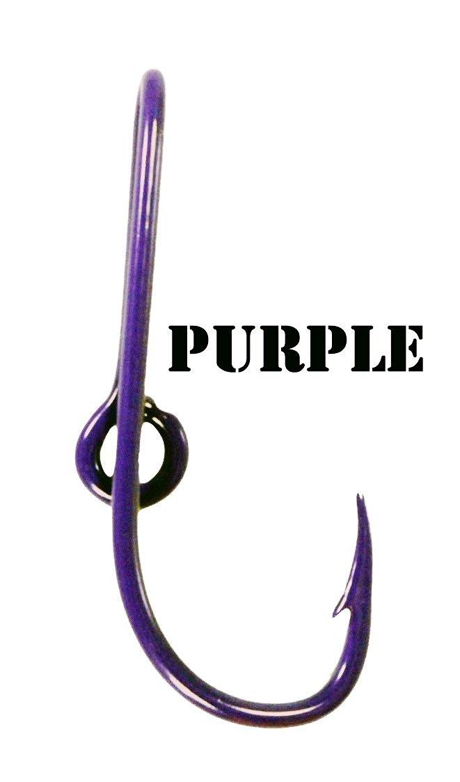 Purple Hat Hook Pin Fish hook for Hat Purple Fish Hook Cap Clip