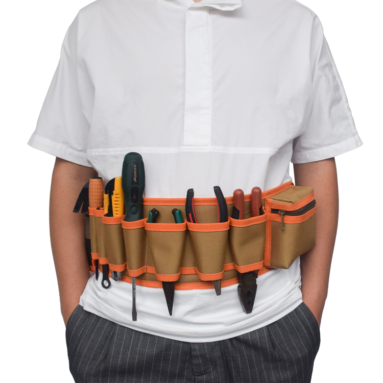 Tool Holder Waist bag Maintenance and Electrician's Pouch with Pockets