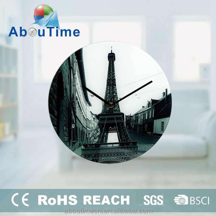 art painting cartoon wall clock hanger and pictures