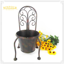cast iron handmade decorative flower pot plant holder for home or garden