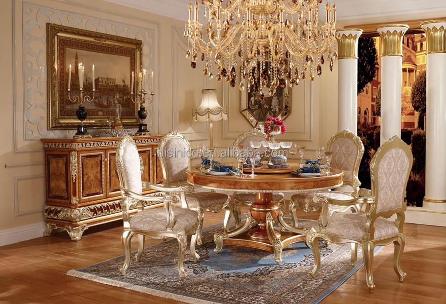 Victoria estilo tallado de madera cena reposteria con for Muebles de sala tallados en madera