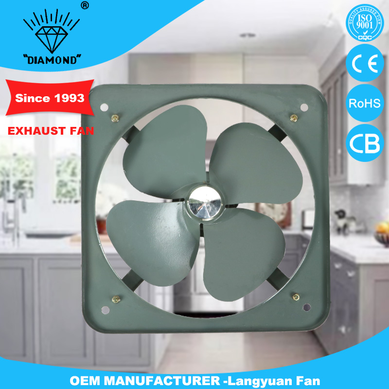 16 Inch Kitchen Industrial 220v Wall Mounted Exhaust Fan Price - Buy 16  Inch Wall Exhaust Fan,220v Exhaust Fan,Kitchen Exhaust Fan Product on