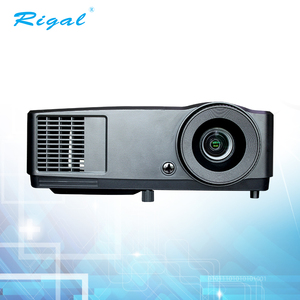 Hot sell support 3D DLP projector Home Theater Education projector 3000 Ansi Lumens with HDMI and USB