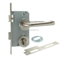Euro Profile Mortise Door Lock with Lever Handle Mortise Lever Handle Locks Door Locks