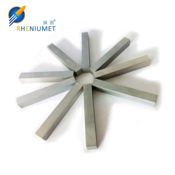 High Purity Rhenium Bar or Rod ,high purity 99.99% rhenium bars