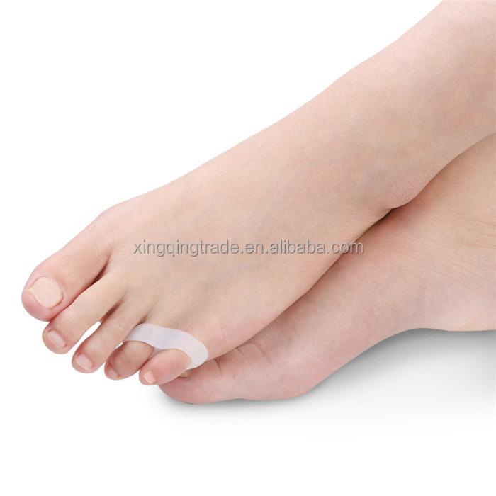 2 Pairs Fußpflege Pediküre Werkzeuge Silica Gel Zehen Separatoren Hallux Valgus Corrector Für Wenig Finger Bunion Teller Orthesen Haut Pflege Werkzeuge