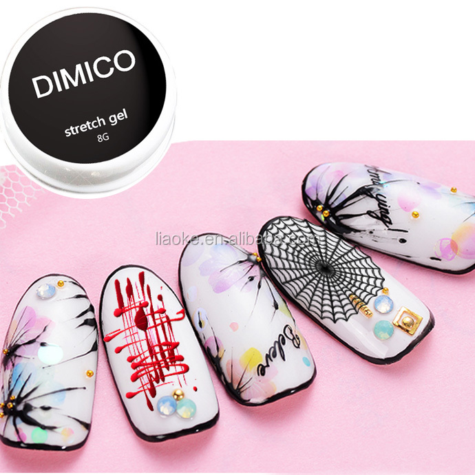 DIMICO Nail Creative Stretching Gel Painting Flower Stretch Elastic Brushed Drawing Gel