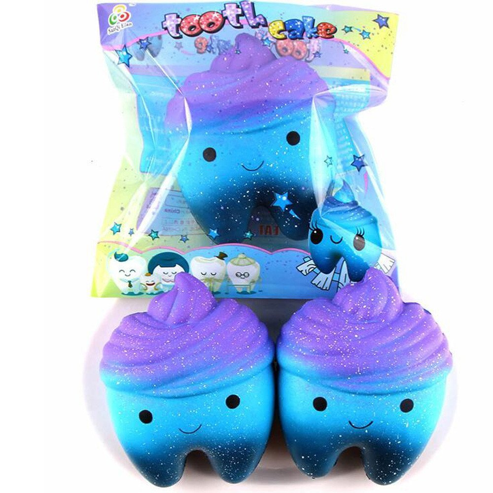 Mochi Squishy Toys , Mingcf 1 Cent Items Kawaii Squishies Toys | 1PCS Squishes Toys | Squishys Slow Rising | Stress Relief Toy | Hand Wrist Toys | Decoration | Phone Straps | Bath Toys (12x12CM)