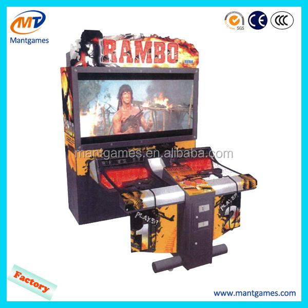 rambo arcade machine