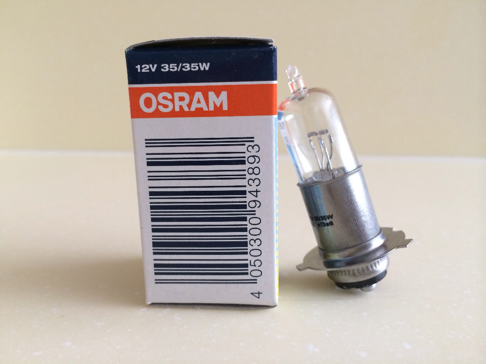 OSRAM M5 62347 12V 35/35W standard power P15D-25-3 Motorcycle head lights Original and genuine motor bulb